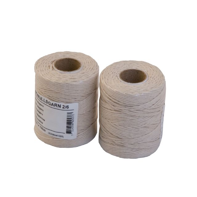 Cotton twine frying string 2/6